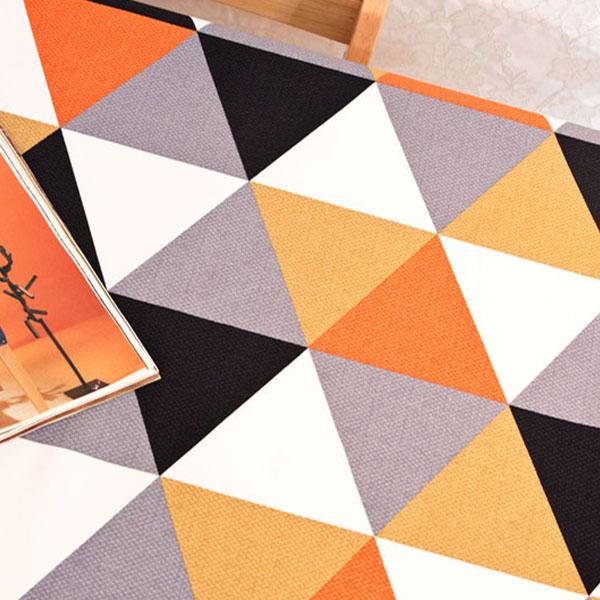 더스케치:셀모 (오렌지) 식탁보